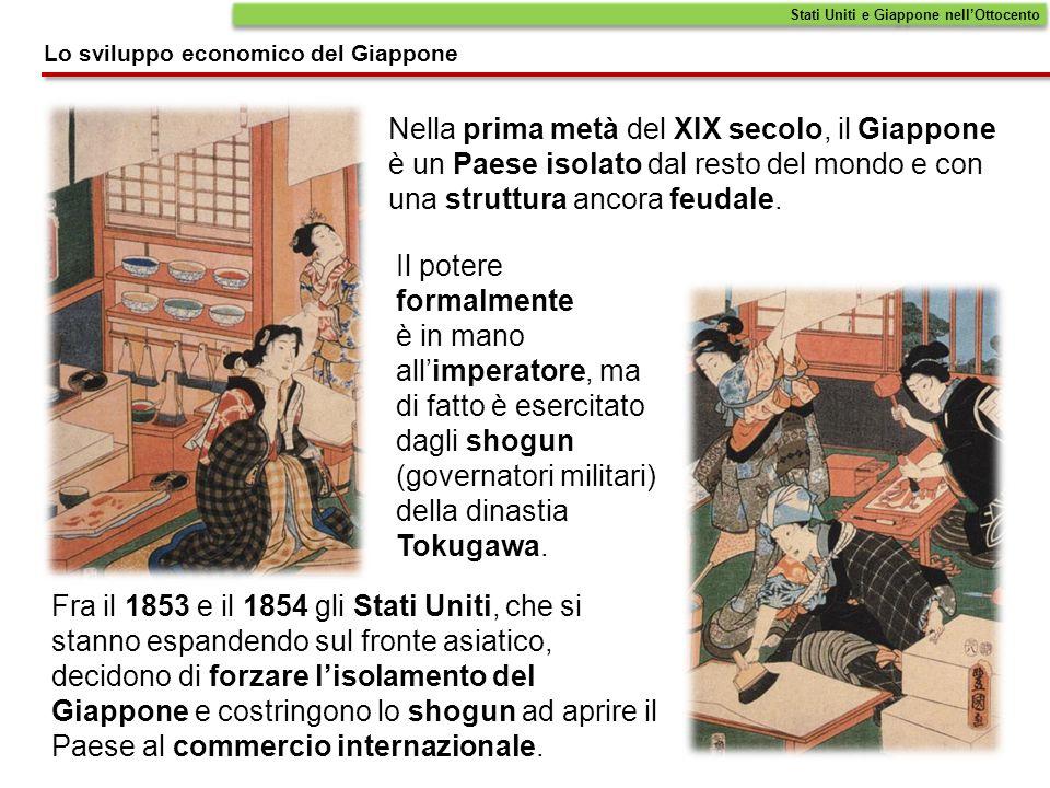 Stati Uniti e Giappone nell'Ottocento