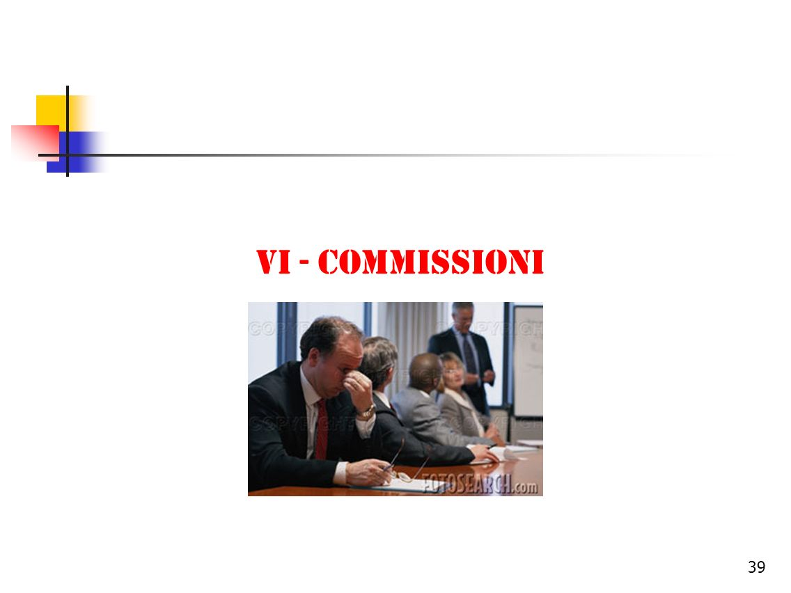 Vi - commissioni
