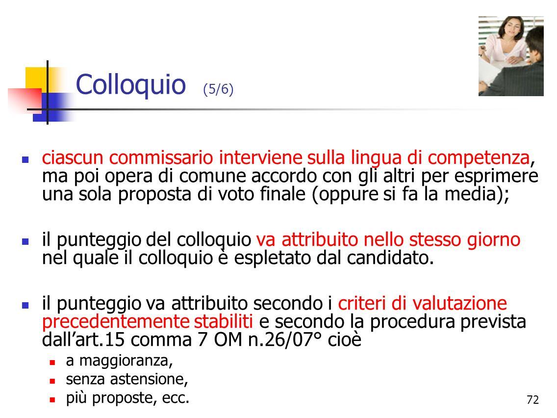 Colloquio (5/6)
