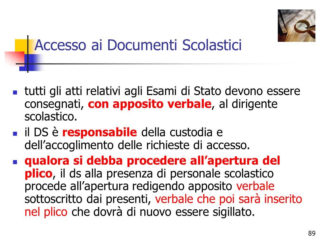 Accesso ai Documenti Scolastici