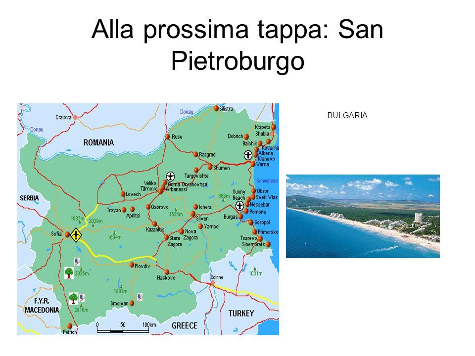 Alla prossima tappa: San Pietroburgo