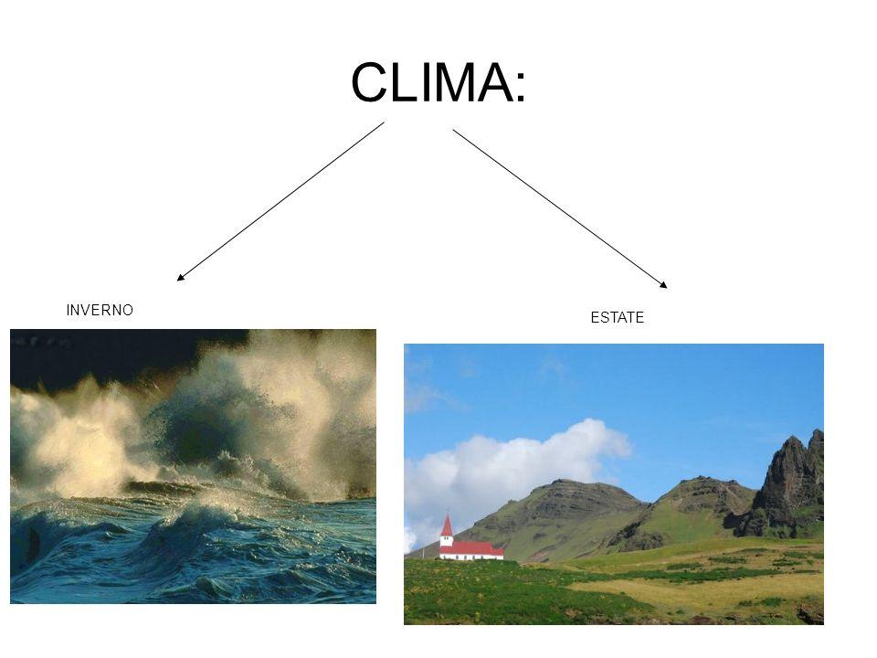 CLIMA: INVERNO ESTATE