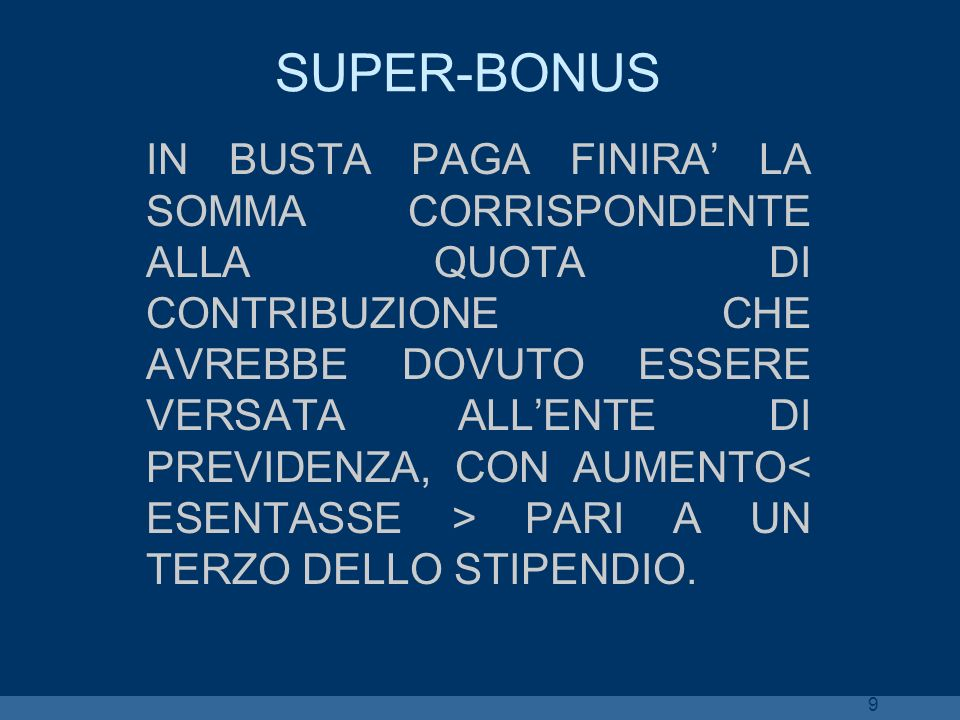SUPER-BONUS