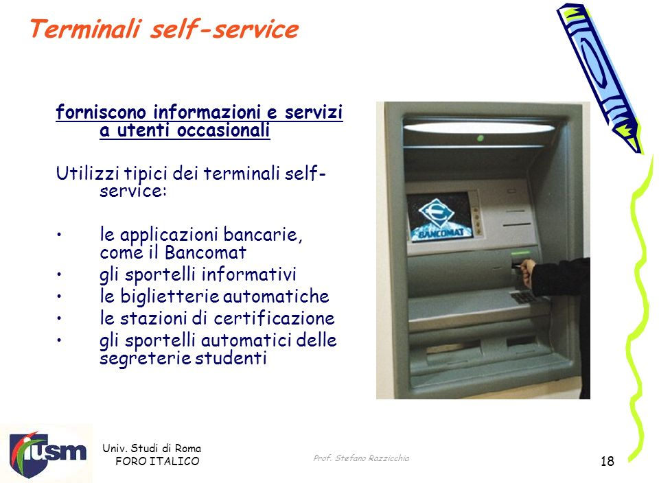Terminali self-service