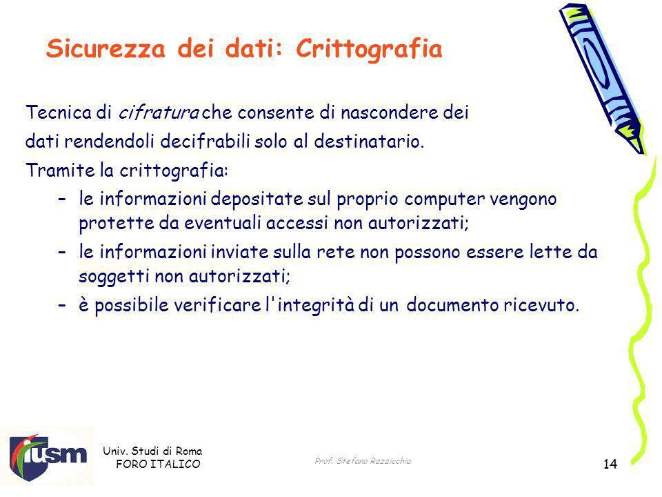 Prof. Stefano Razzicchia