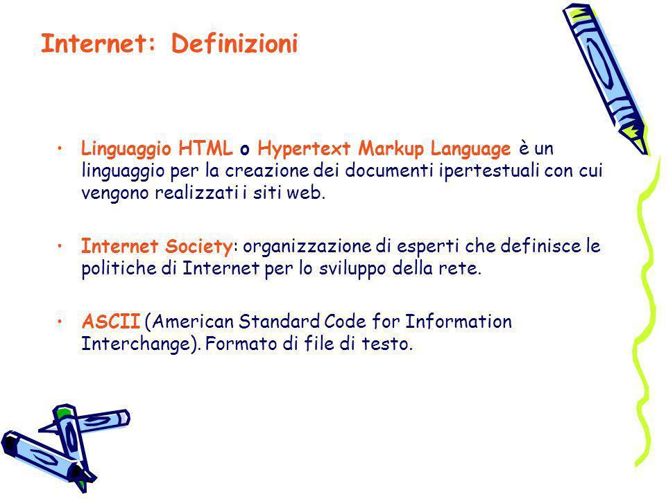 Internet: Definizioni