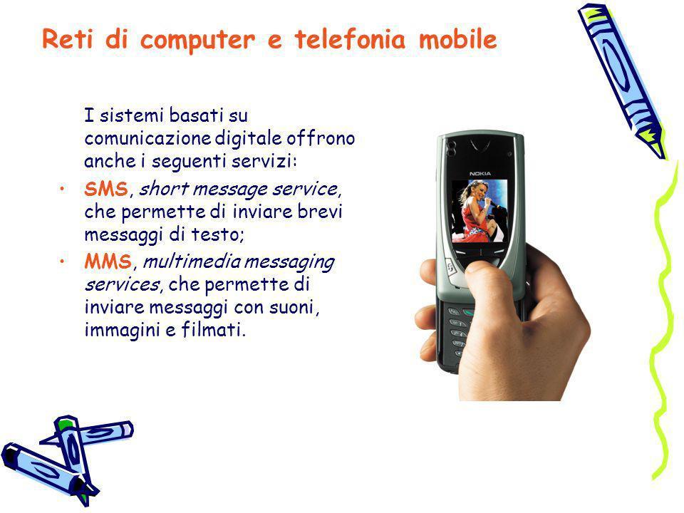 Reti di computer e telefonia mobile