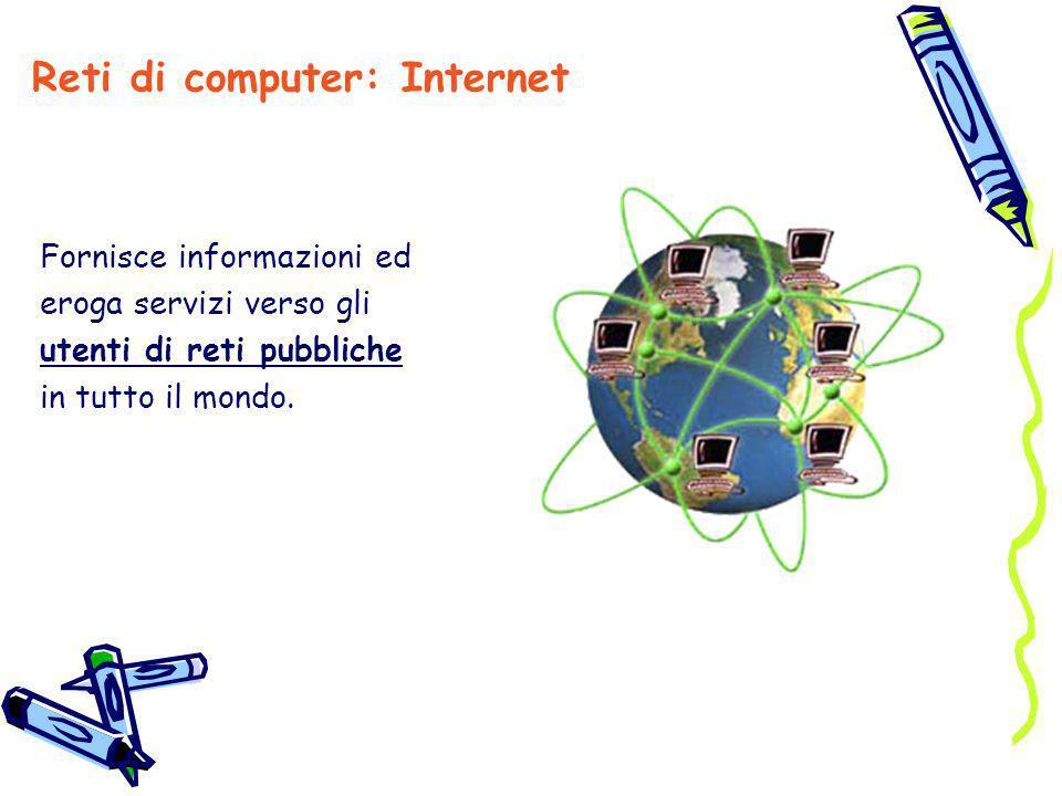 Reti di computer: Internet