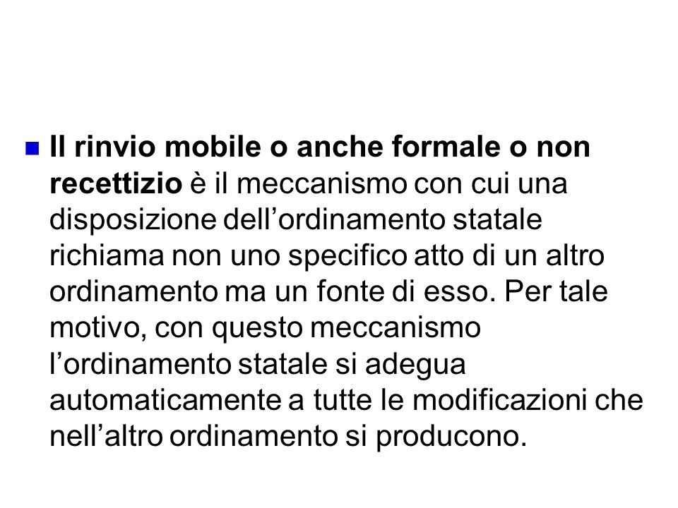 Rinvio mobile