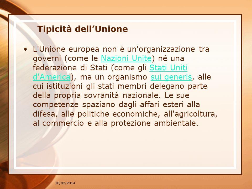 Tipicità dell'Unione