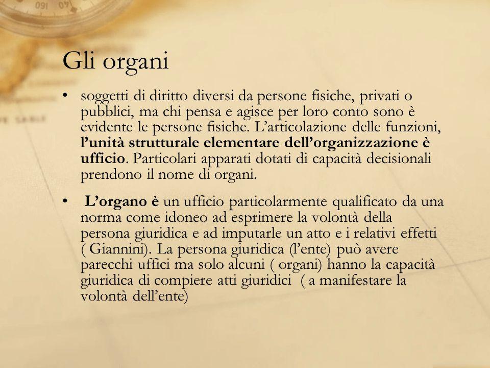 Gli organi