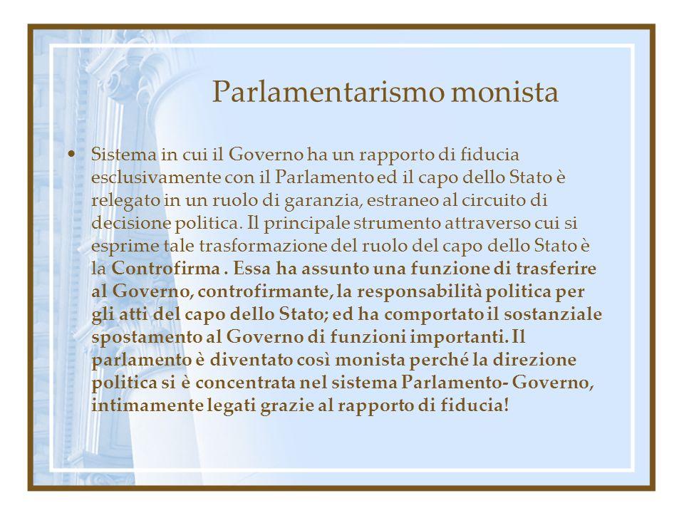 Parlamentarismo monista