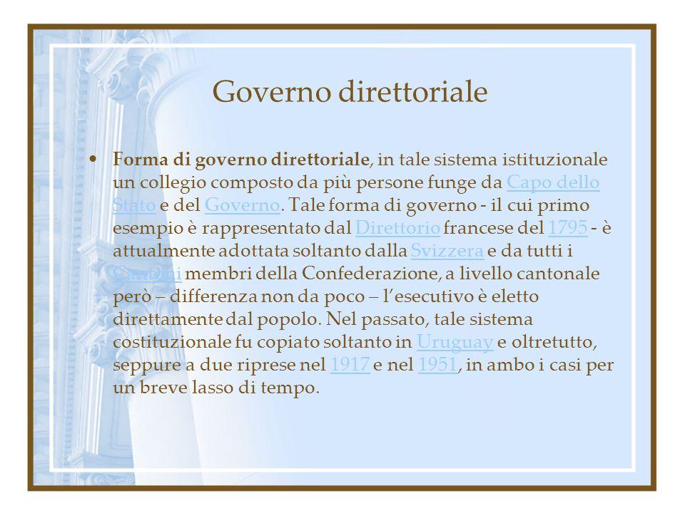Governo direttoriale