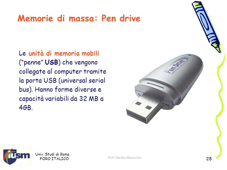 Memorie di massa: Pen drive