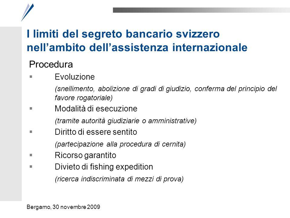 Evoluzione dell'assistenza internazionale Sul piano procedurale
