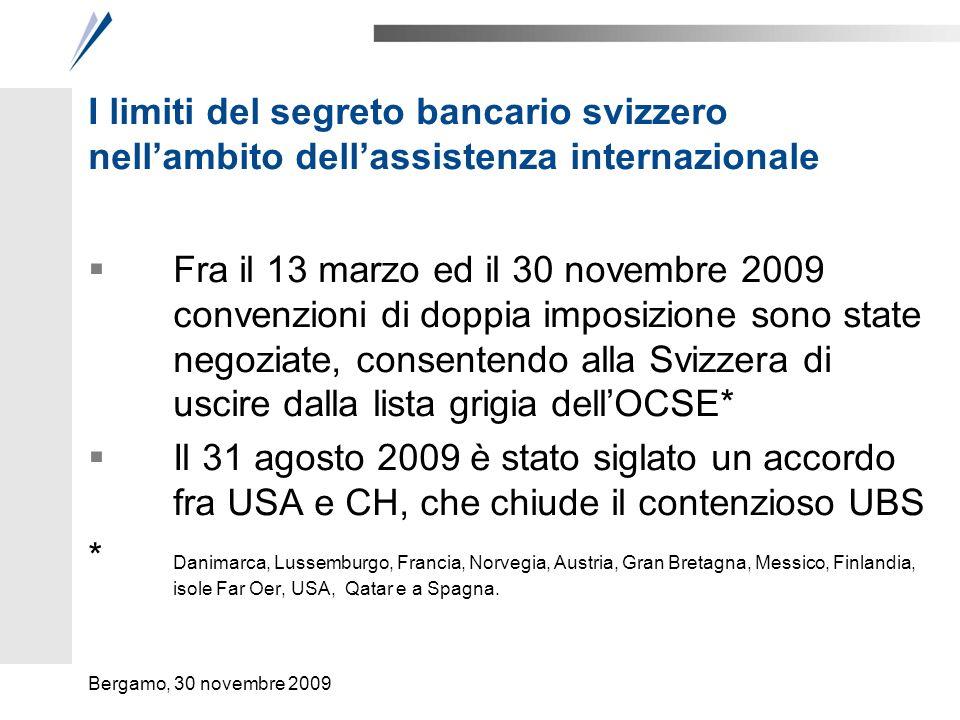 28 febbraio 2009: la Svizzera consegna 285 nomi di clienti all'IRS