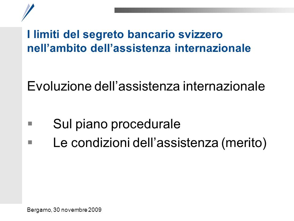 L'assistenza internazionale Giudiziaria (penale)