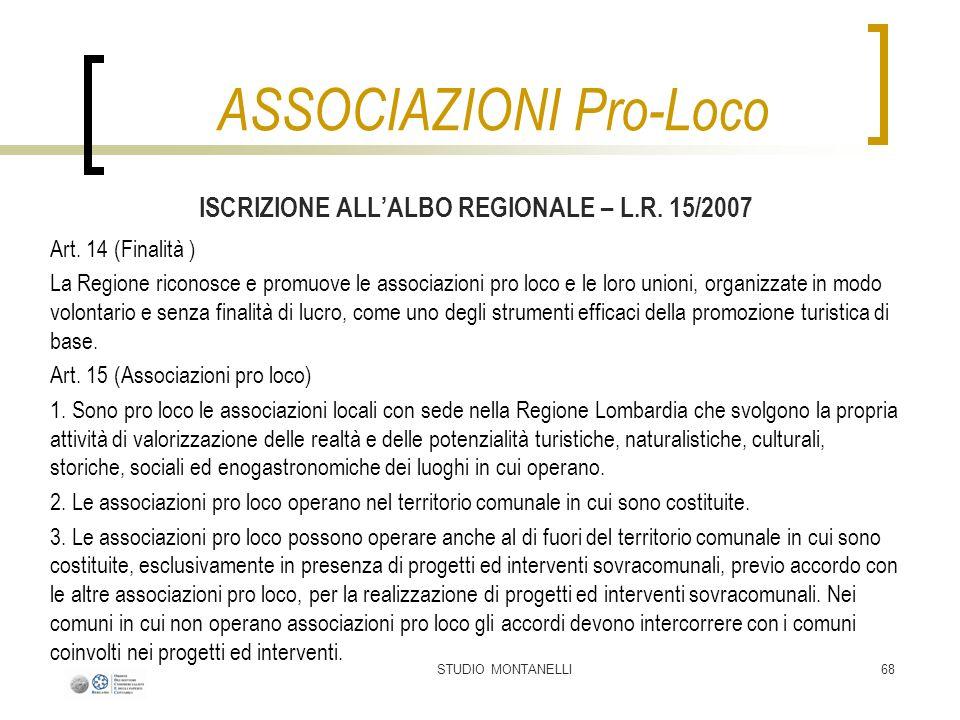 ASSOCIAZIONI Pro-Loco