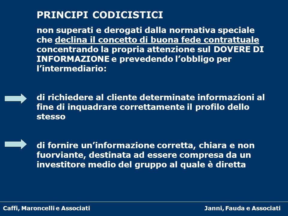 PRINCIPI CODICISTICI