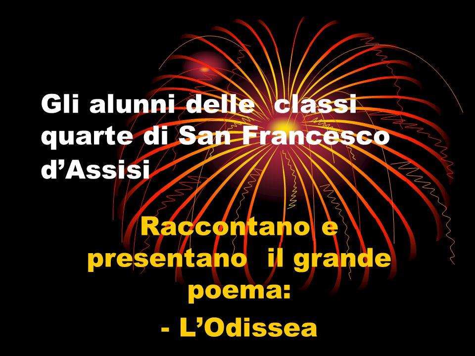 Gli alunni delle classi quarte di San Francesco d'Assisi