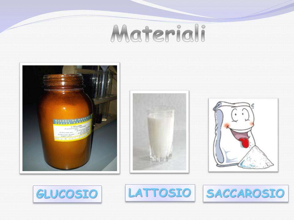 Materiali GLUCOSIO LATTOSIO SACCAROSIO