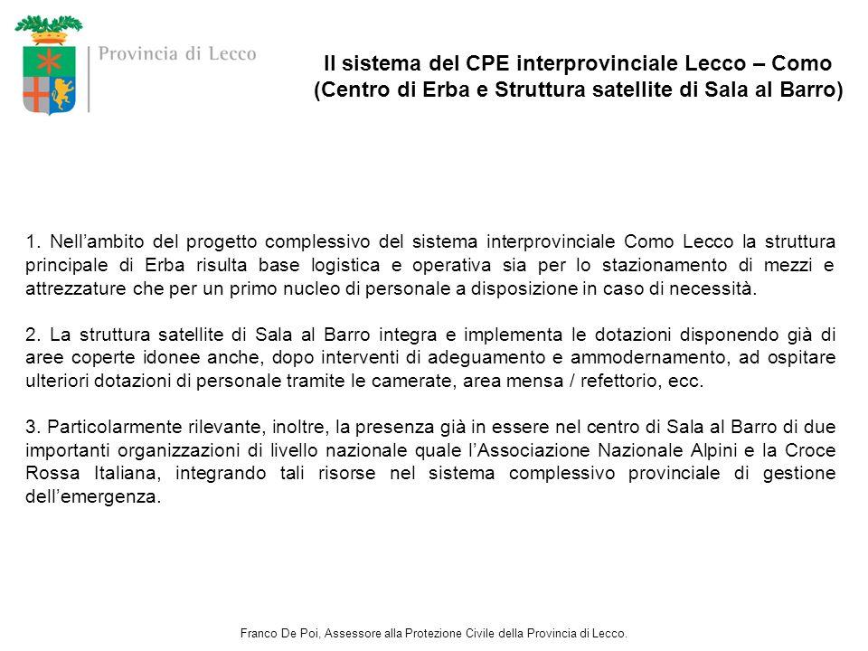 Il sistema del CPE interprovinciale Lecco – Como