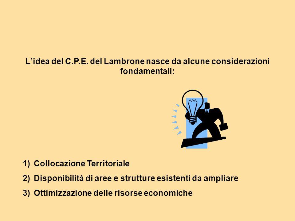 L'idea del C.P.E. del Lambrone nasce da alcune considerazioni fondamentali: