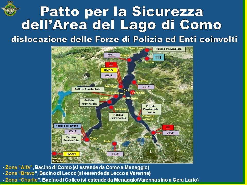 Patto per la Sicurezza dell'Area del Lago di Como