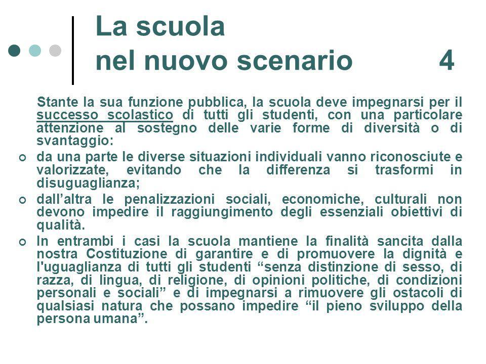 La scuola nel nuovo scenario 4