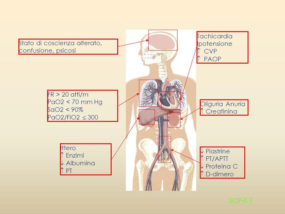 SOFA Tachicardia Ipotensione