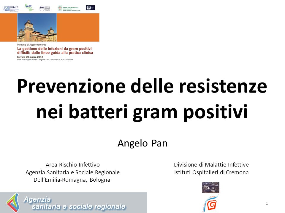 Prevenzione delle resistenze nei batteri gram positivi