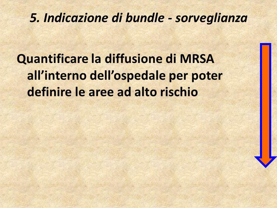5. Indicazione di bundle - sorveglianza