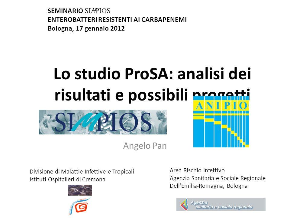 Lo studio ProSA: analisi dei risultati e possibili progetti