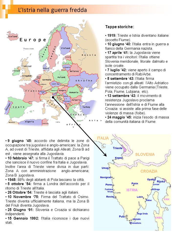 L'Istria nella guerra fredda