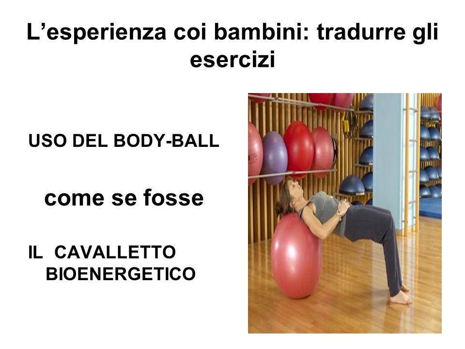 L'esperienza coi bambini: tradurre gli esercizi