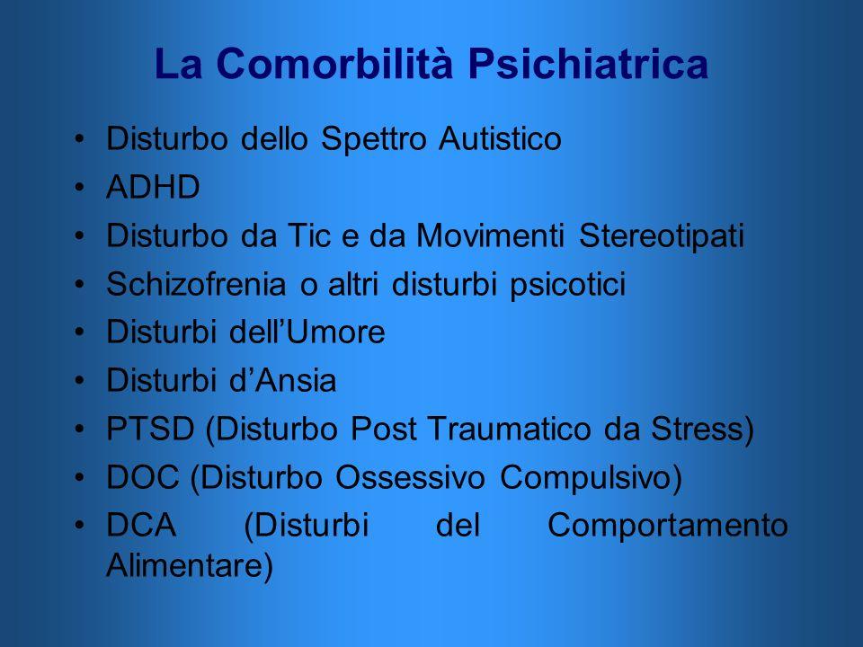 La Comorbilità Psichiatrica