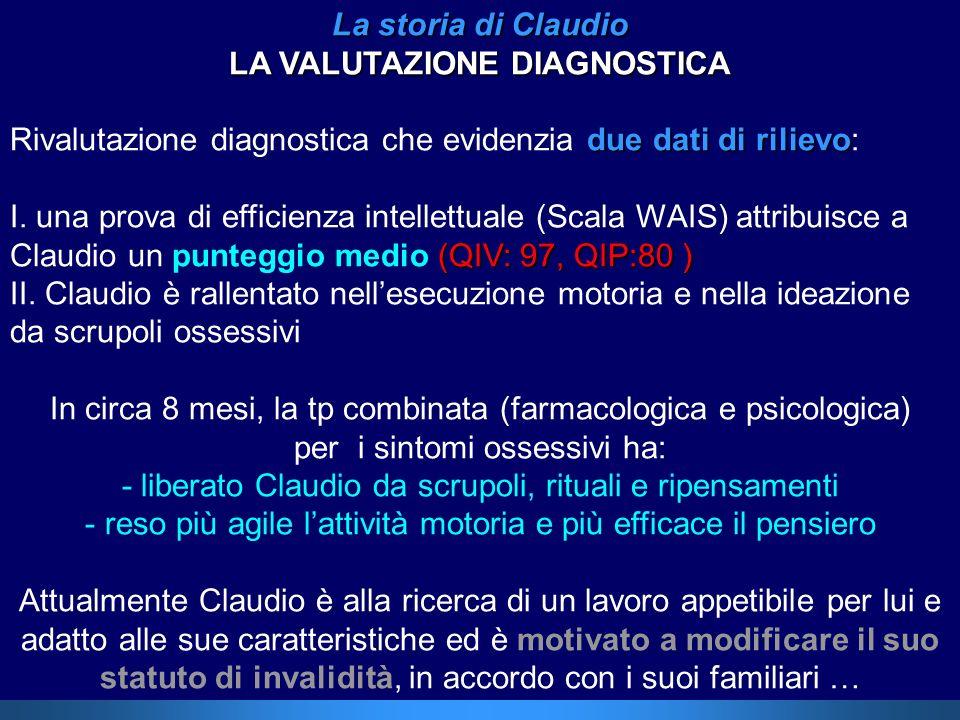 LA VALUTAZIONE DIAGNOSTICA