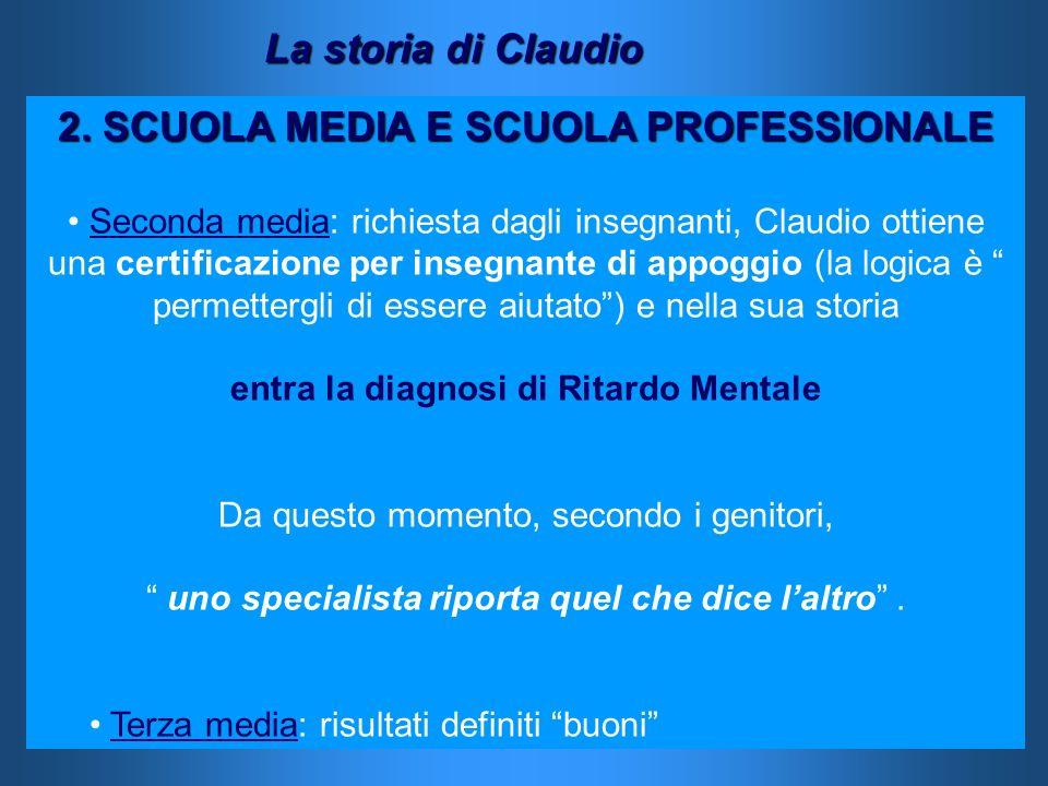 2. SCUOLA MEDIA E SCUOLA PROFESSIONALE