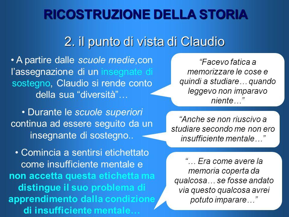 2. il punto di vista di Claudio