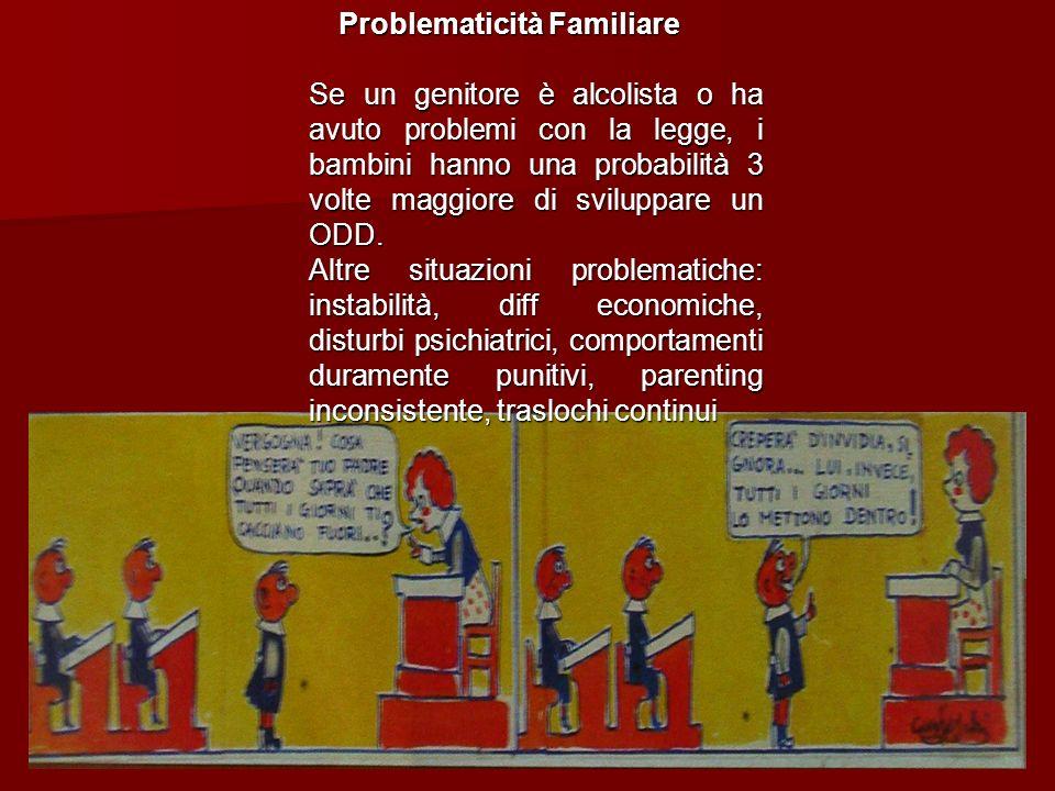 Problematicità Familiare