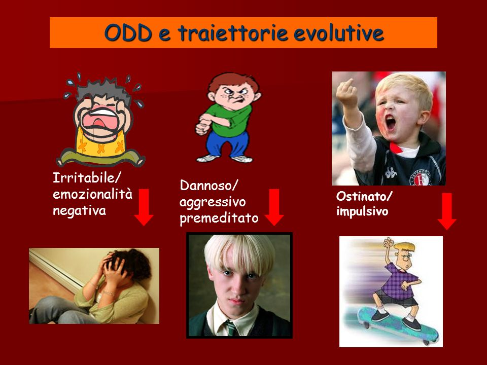 ODD e traiettorie evolutive