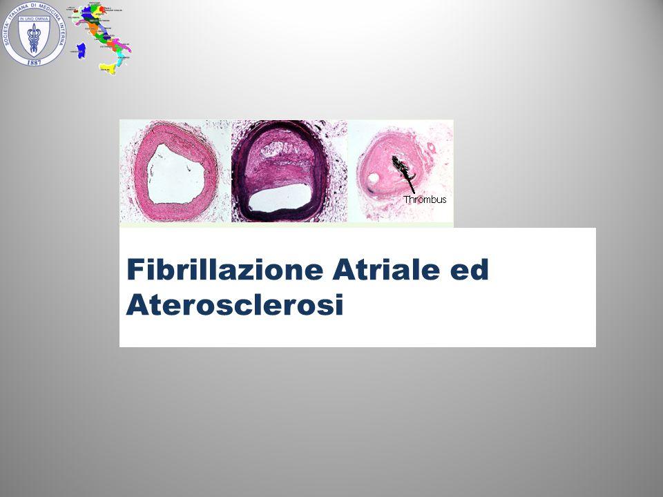 Fibrillazione Atriale ed Aterosclerosi