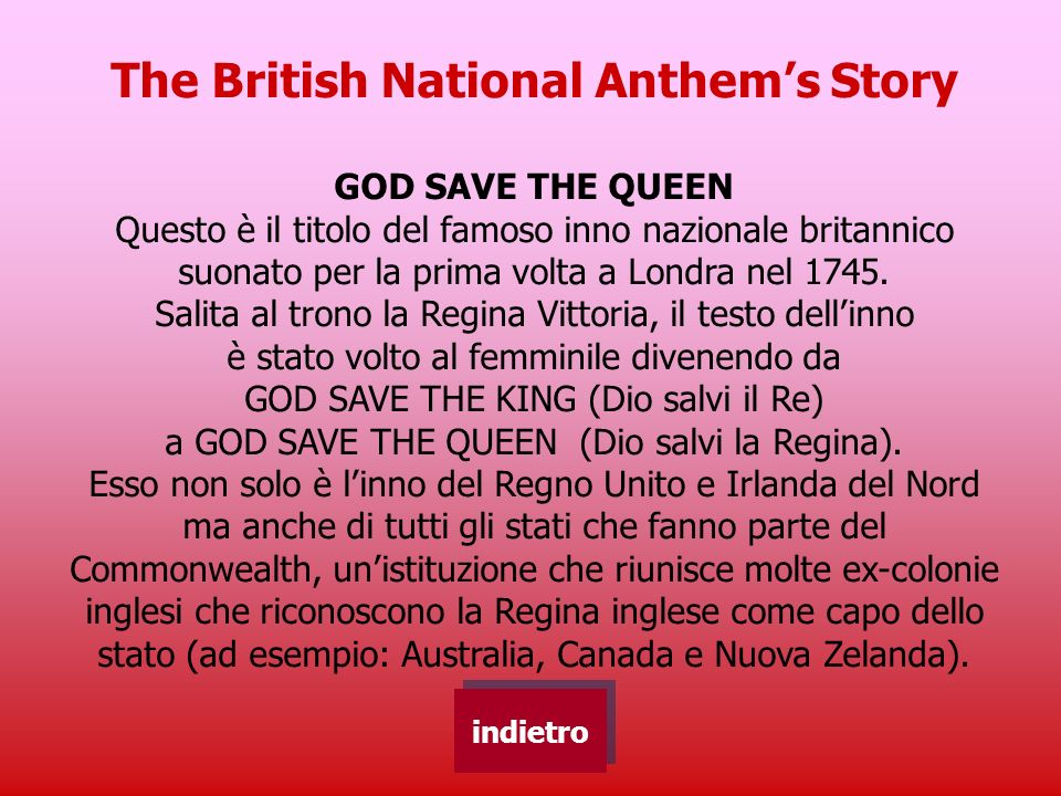 The British National Anthem's Story
