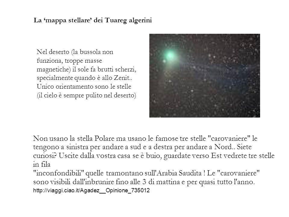 La 'mappa stellare' dei Tuareg algerini