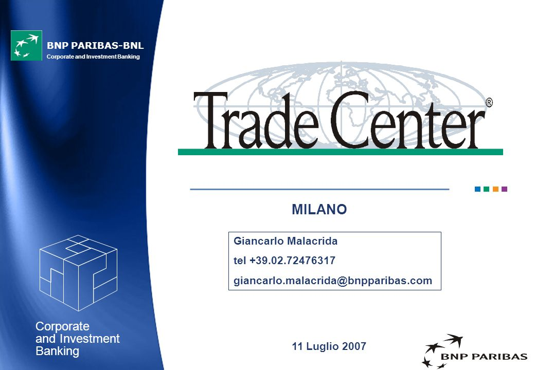MILANO Giancarlo Malacrida tel +39.02.72476317