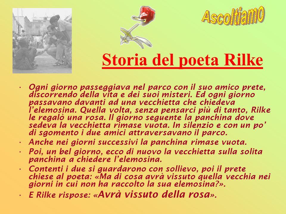 Storia del poeta Rilke Ascoltiamo