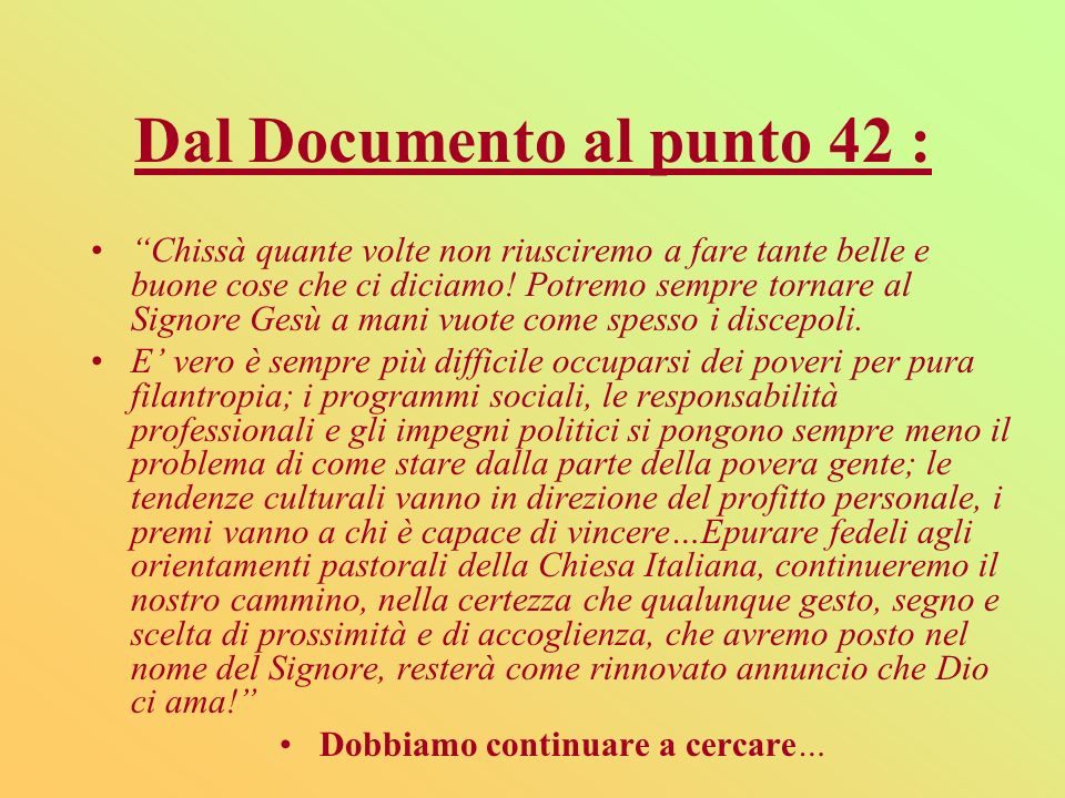 Dal Documento al punto 42 :