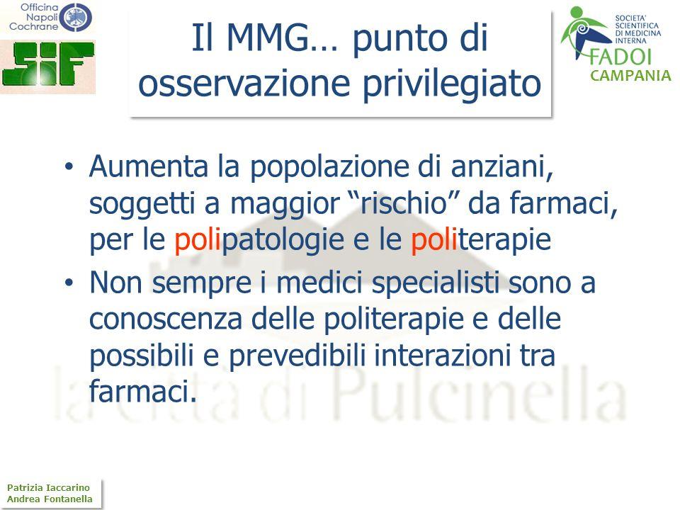 Il MMG… punto di osservazione privilegiato