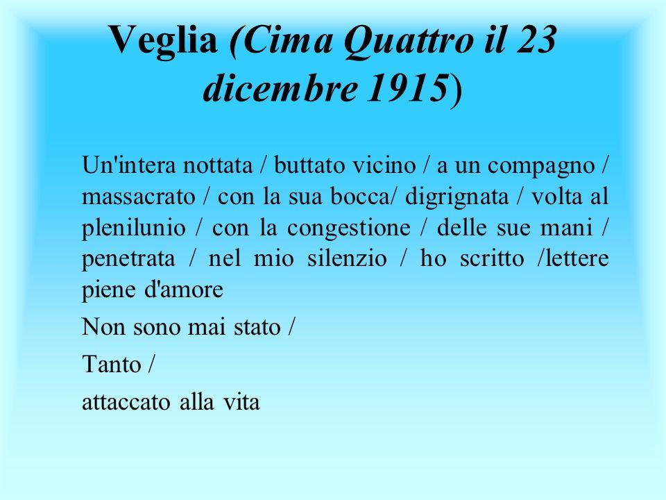 Veglia (Cima Quattro il 23 dicembre 1915)