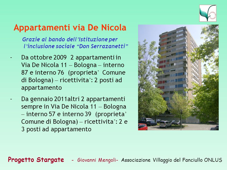 Appartamenti via De Nicola